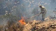 مهار آتش سوزی جنگل های کوه نور