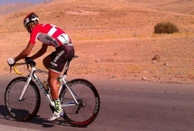 دوچرخه سوار نوجوان میاندوآبی رکورد کشور را در بخش جوانان ارتقا داد