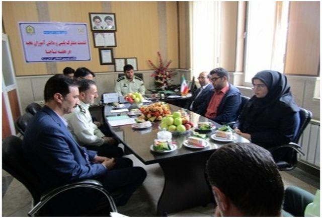نشست مشترک پلیس و دانش آموزان نخبه مدارس زنجان برگزار شد