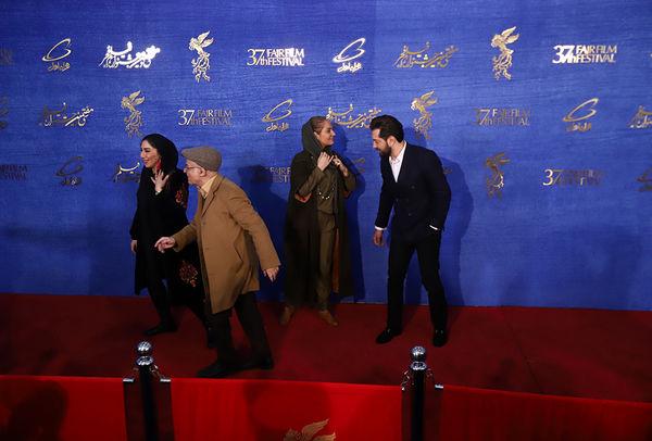 دهمین روز جشنواره فجر با حضور عوامل فیلم ((آشفتگی))