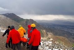 برخورد صاعقه به یک زن در ارتفاعات توچال+عکس