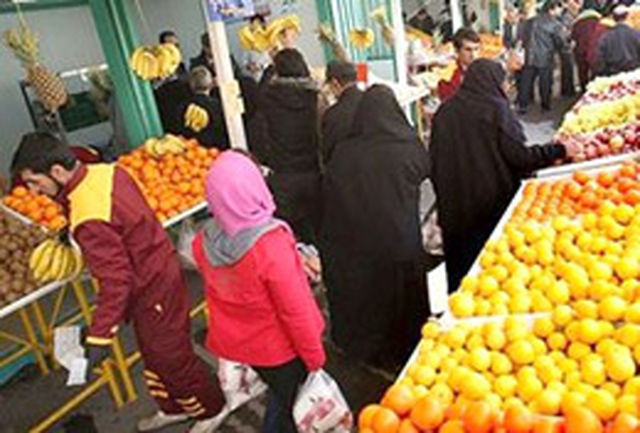 وجود ذخایر کافی برای کالاهای مورد نیاز مردم در شب عید