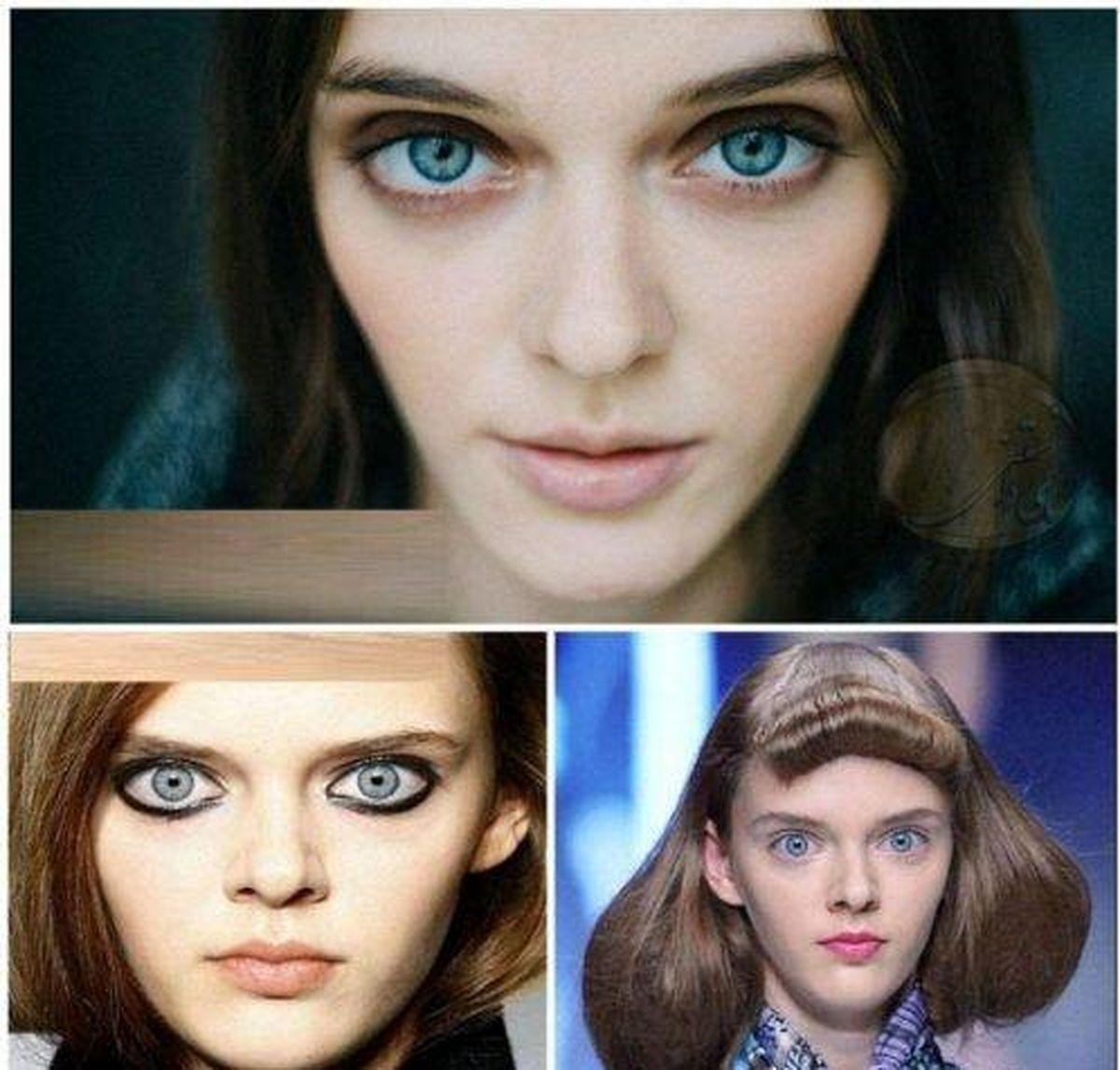 قیافه ترسناک دختر جوان او را تبدیل به مدل معروف کرد! + عکس