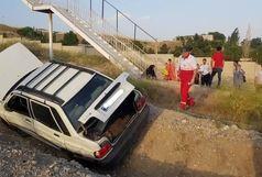 واژگونی خودرو پراید ۴ مصدوم برجا گذاشت