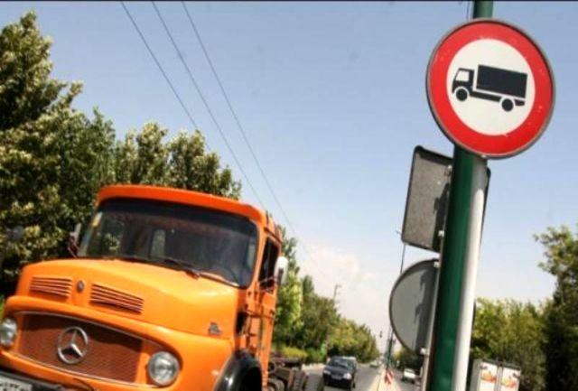 ورود کامیون به جاده هراز ممنوع شد