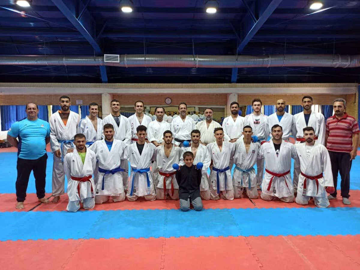 آغاز مرحله پنجم اردوی تیم ملی کاراته