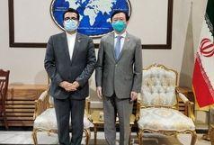 سفیر چین از دیدار خود با سخنگوی وزارت خارجه ایران خبر داد