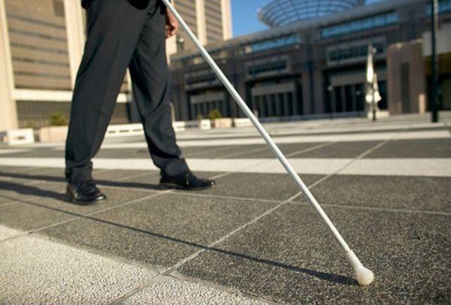 عصای سفید، پرچمی است به نشانه استقلال نابینایان