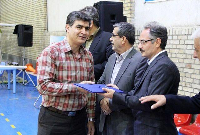 رئیس هیات بسکتبال شهرستان شهریار انتصاب گردید