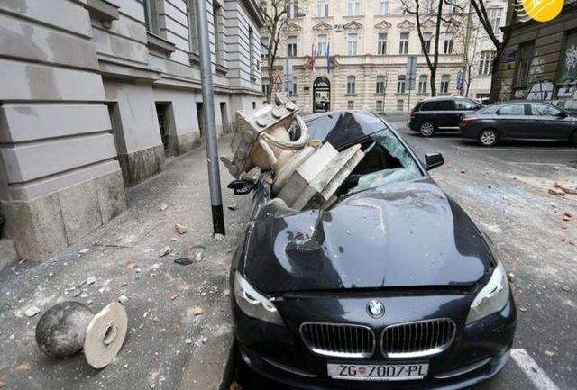 زلزله شدید زاگرب را لرزاند