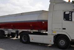 توقیف تریلی حامل 23 هزار لیتر سوخت قاچاق در ایرانشهر