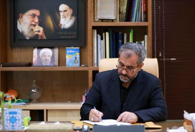استاندار قزوین خطاب به حضرت آیت الله محمدی ری شهری پیام تسلیتی صادر کرد