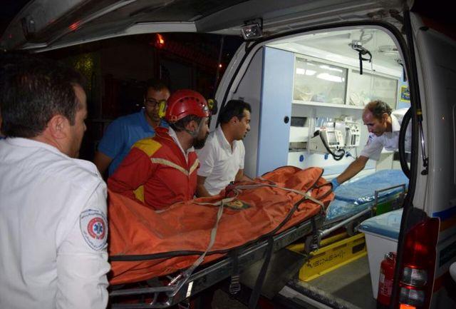 انتقال 30 نفر از مجروحین تصادف زنجیره ای خوزستان به بیمارستان