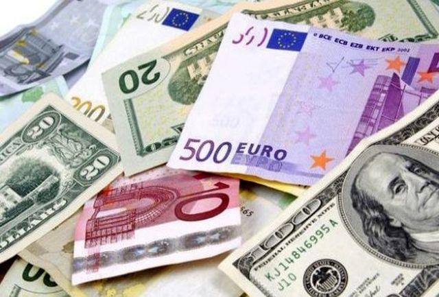 تغییرات جدید نرخ 39 ارز مبادله ای/ افت قیمت یورو و پوند