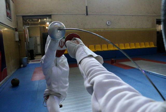 پایان کار شمشیربازی ایران در زون آسیا بدون سهمیه المپیک