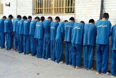 دستگیری ۱۷ سارق و مجرم تحت تعقیب و کشف  ۱۹ فقره انواع سرقت در اندیمشک