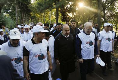 پیاده روی روز جهانی بهداشت