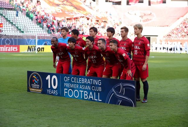 بازیکنان کاشیما آنتلرز در ورزشگاه آزادی تمرین کردند