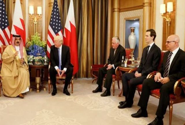 خواب ترامپ  برای خاورمیانه