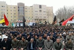سه پیکر شهید نیروی انتظامی تشییع شد