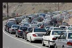 ترافیک در راههای البرز سنگین شد