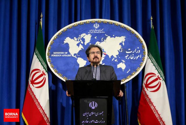 سخنگوی وزارت امور خارجه: رابطه صمیمی میان ظریف و روحانی وجود دارد