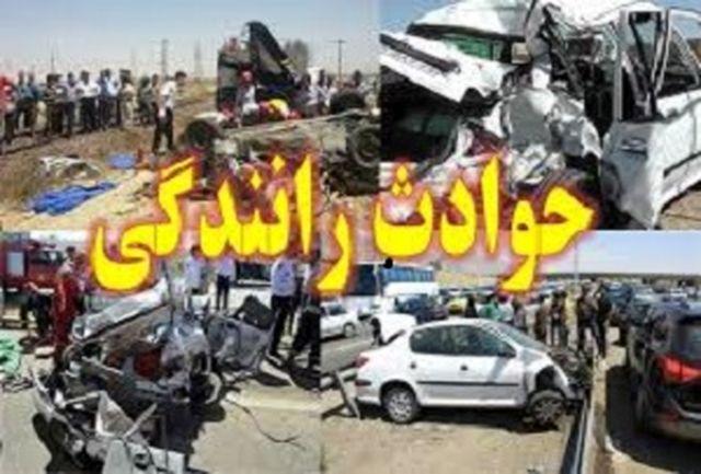 تصادف مرگبار کامیون با سواری پژو