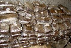کشف671کیلوگرم موادمخدر در عملیات مشترک پلیس بم و استان سمنان
