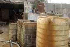 کشف محل دپوی 47 هزار لیتر گازوئیل قاچاق در شیراز