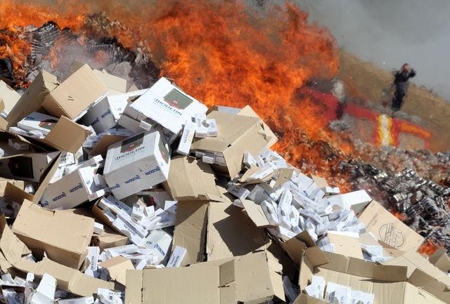 ناکام ماندن قاچاقچیان سیگار در مرزهای آذربایجان غربی
