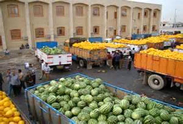 افزایش صادرات محصولات کشاورزی از مرز بین المللی مهران