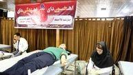مراسم اهدای خون ورزشکاران استان تهران برگزار شد
