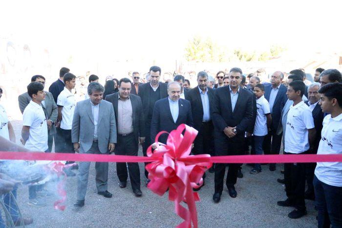 سالن ورزشی فرح آباد کرمان افتتاح شد
