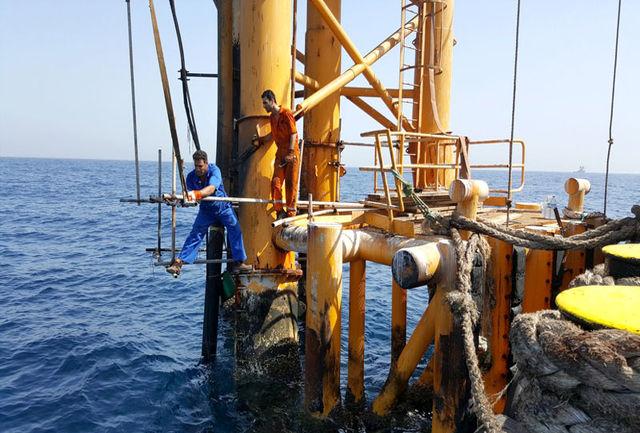 مهار نشت نفت و تعمیر موفقیتآمیز خط لوله انعطافپذیر 8 اینچ میدان سروش