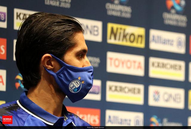 حسینی به باشگاه استقلال رفت