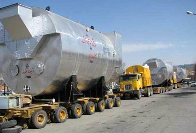 بزرگترین دیگ بخار در ماشین سازی اراک ساخته شد