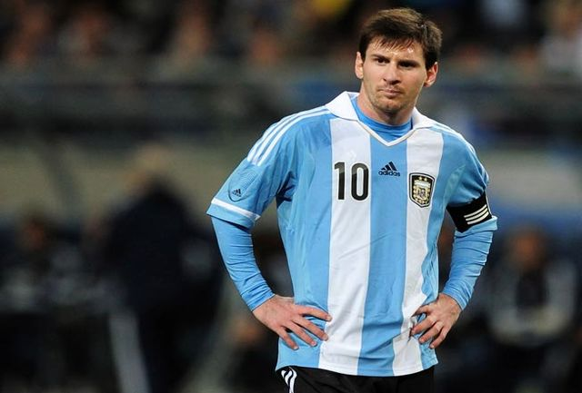 مسی پر درآمدترین بازیکن حاضر در جام جهانی روسیه