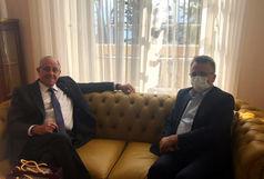 دیدار داورزنی با رئیس و مدیرکل فدراسیون جهانی والیبال