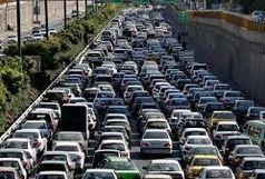 ترافیک در اتوبان های پایتخت