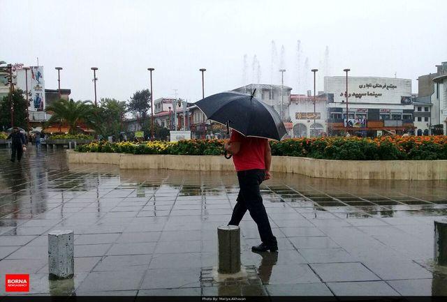 این مناطق کشور امروز بارانی میشوند