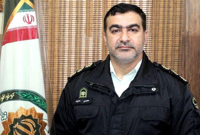 دستگیری سارقان حرفه ایی لوله های سرقتی