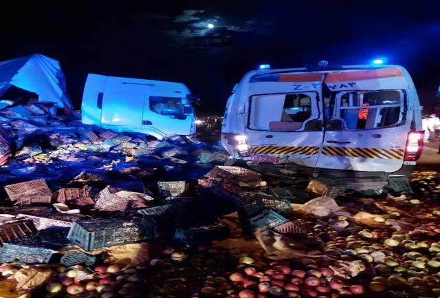 جان باختن تکنسین اورژانس آذربایجان شرقی در حین امداد رسانی