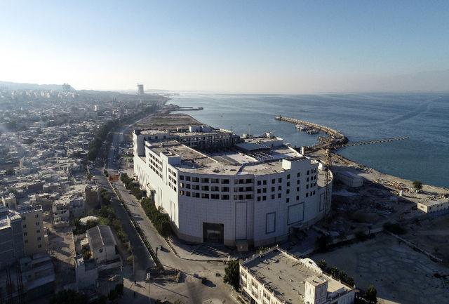 افتتاح مجتمع تجاری، اقامتی و تفریحی ۱۴۷هزار متری معراج در قشم