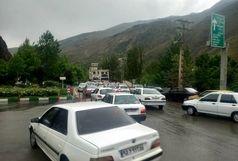 ترافیک سنگین معابر پایتخت در روز دوشنبه