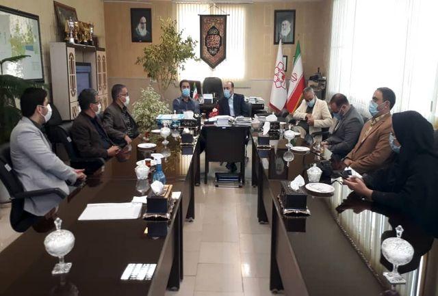 دیدار حسین عباسی با شهردار پیشوا
