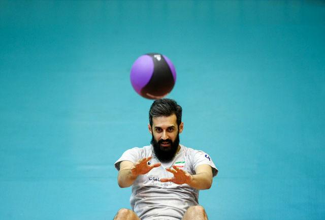 لژیونرهای والیبال راهی باشگاههای خود شدند