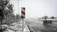۸۰ فقره تصادف رانندگی بر اثر لغزندگی جادههای همدان