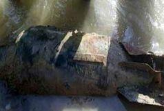 کشف و انهدام یک بمب خنثی نشده در پلدختر
