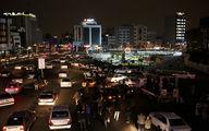 نورافشانی شب نیمه شعبان در تهران - ۱