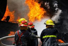 آتش سوزی کارگاه ۲ هزار متری مبل سازی